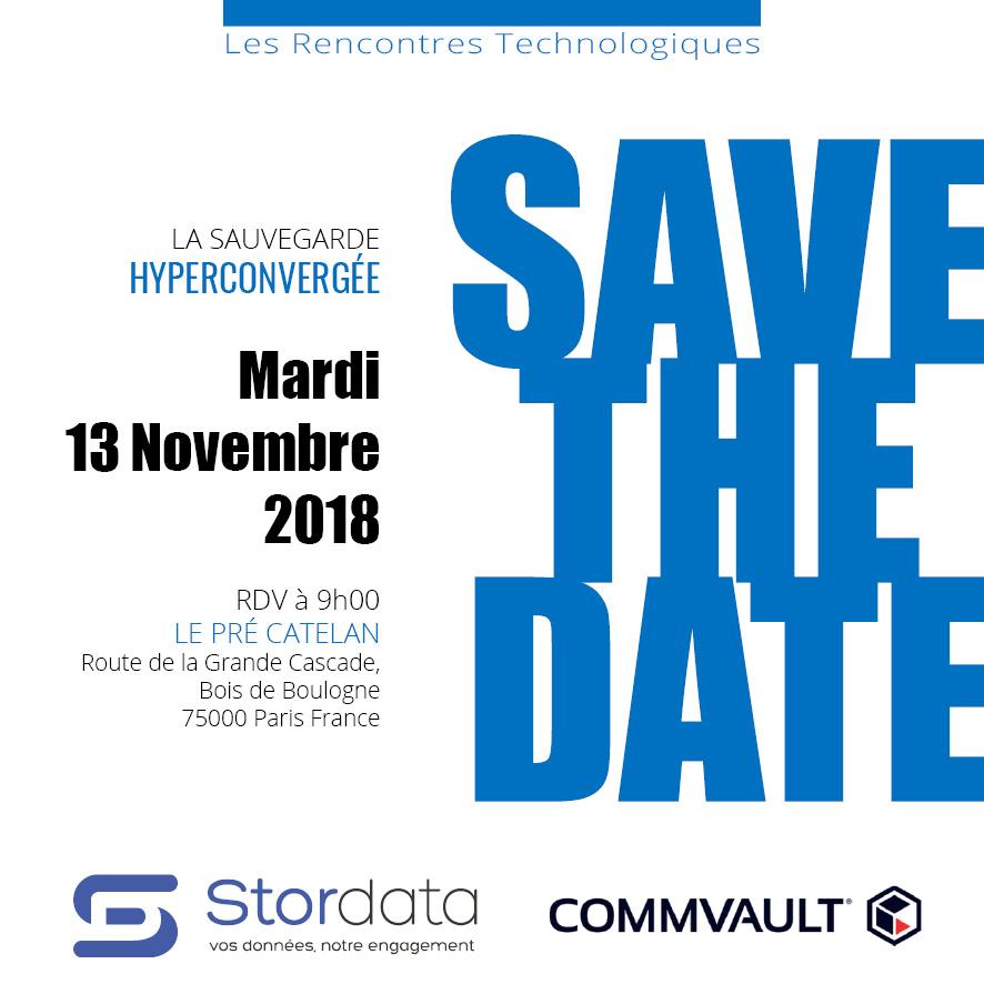 RDV le 13 novembre 2018 pour une rencontre technologique