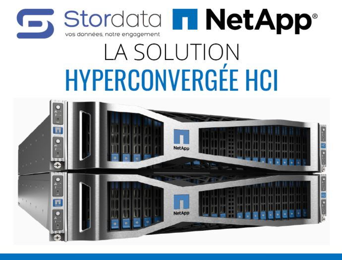 TECHNOLOGIE – Convergence, Hyperconvergence et HCI NETAPP